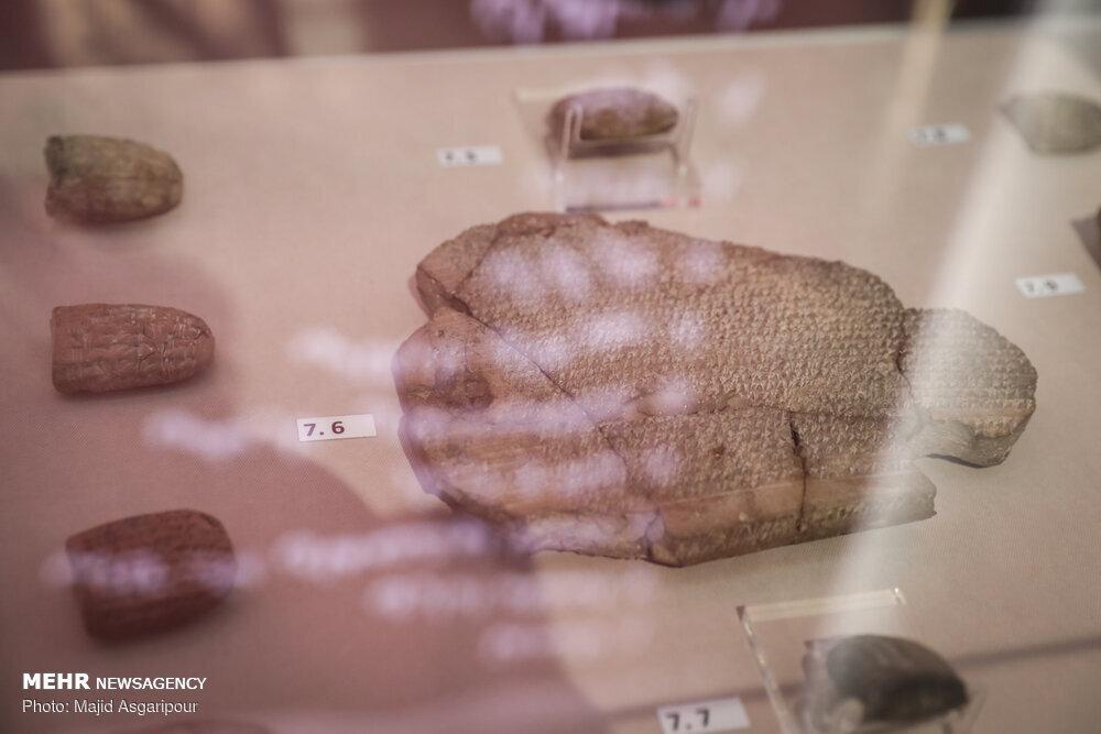 ۱۷۰۰ لوح هخامنشی به موزه ملی ایران رسید